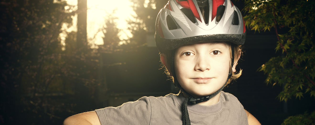 Biking safe with my helmet - BikeSafe IM